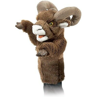 Folkmanis Puppets Bighorn Sheep Stage Puppet Brown/White