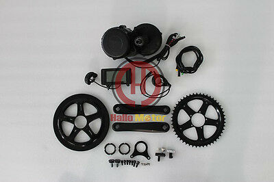 BBS02 48V 500W 8fun Bafang Mid Drive Motor Electric Bike Conversion Kit Ebike