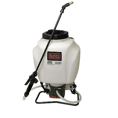 Chapin 63980 Black and Decker 4-Gallon Wide Mouth Battery Sprayer Backpack 20...