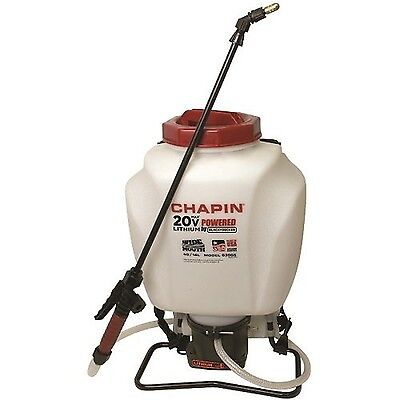 Chapin 63985 4-Gallon Mouth Battery Sprayer Backpack 20-Volt