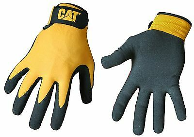 Cat CAT017416M Foam Cell Nitrile Coated Glove Medium (Yellow)