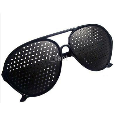 Unisex Eyesight Improve Pinhole Glasses Stenopeic Eyeglasses Sunglasses 1pc