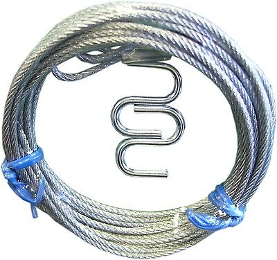 Ideal Security Inc. SK7135 Garage Door Latch Cables Galvanized