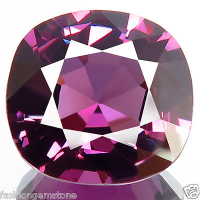4.01ct SPARKLING RARE 100% NATURAL UNHEATED BEST 5A+ PURPLE SPINEL IF- FLAWLESS!