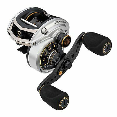 Abu Garcia Revo Premier LP Left Linkshand Low Profile Baitcast Angelrolle
