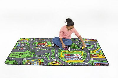 Kids Play RUG Car Road Rug Hot Wheels Matchbox TRACK Christmas GIFT