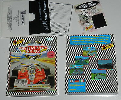 "CONTINENTAL CIRCUS  C64 Disk  5,25"" Diskette,  OVP,   Getestet,  TOP Zustand"