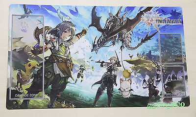 F1162# Free Mat Bag FFXIV Final Fantasy Trading Card Game Playmat FF TCG Mat