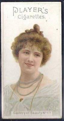 Players-Gallery Of Beauty 1896-#17- Quality Card!!!