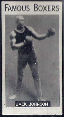 Singleton & Cole-Famous Boxers Boxing-#05- Jack Johnson - Quality Rare Card!!!