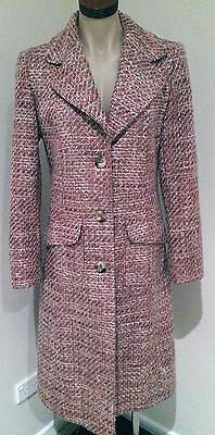 Womens Vintage Coat By Uk Brand Next, Made In Romania
