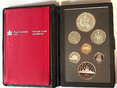 Canada - 1983 Double Dollar Proof Set - Royal Candian Mint - With Box and COA