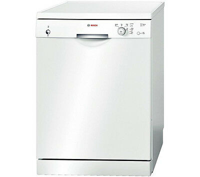 NEW Bosch Sms40T32Gb Full-Size Dishwasher - White 12 Place Setting 60cm A+
