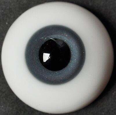 Thickened FlatBack 20MM Gray&Blue Glass BJD Eyes for Reborn  BJD Doll