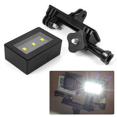 6 in 1 Camera Accessory LED Light Kit Frame Cable Battery for Gopro Hero 4 OS761