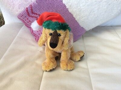 Ty Beanie Babies - Jinglepup the Christmas puppy