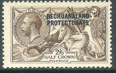 Bechuanaland 1923 chocolate-brown 2/6d BW printing mint SG88