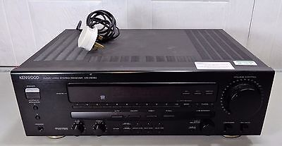 Good Condition Working Black Kenwood KR-V6050 Audio-Video Stereo Receiver