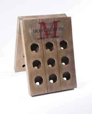 NEW   French Timber Wine Rack - Camargue France