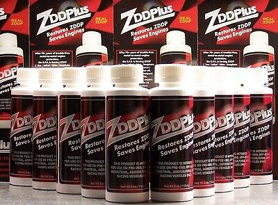 10 ZDDPlus ZDDP Engine Oil Zinc Additive - Save your Engine!