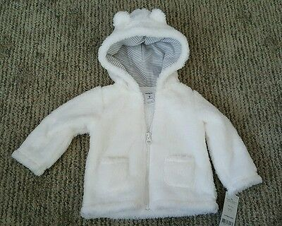 Carters Unisex Boys Girls Infant Coat Jacket 9 Months NEW w Tags