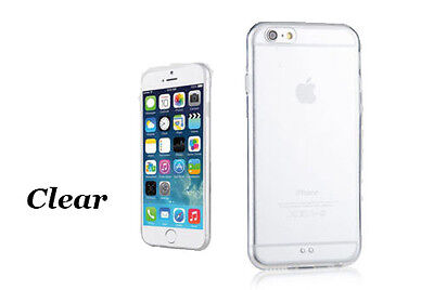 Bulk Wholesale of Silicone Gel Clear TPU Case Cover for iPhone 6 4.7'' X 50