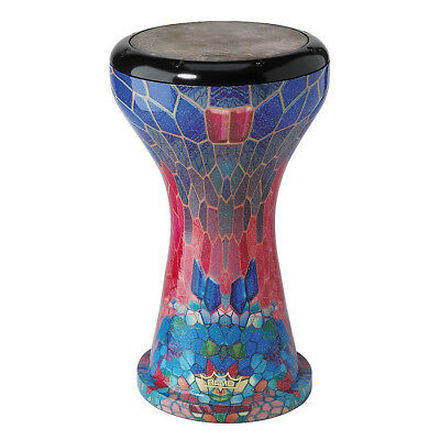 Remo 9 Inch Crystal Doumbek (Sapphire Ruby)