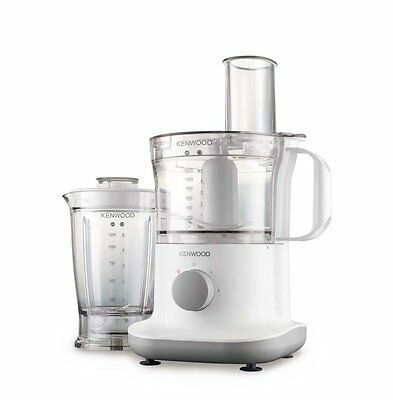 Kenwood FPP220 Multipro Compact Food Processor with Liquidiser in White