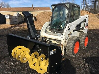 "Brand New 68"" Skid Steer Snow Blower"