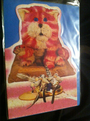 BN Cutout Bagpuss with the Mice and the Ballet Shoe Card