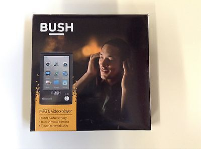 Bush 16gb Mp3 & Video Player With Touch Screen & Wireless Bluetooth