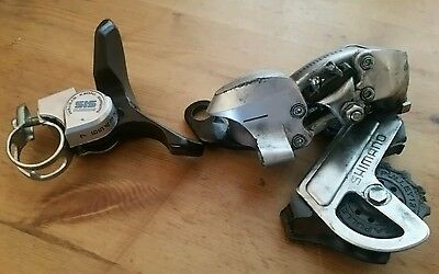 Shimano sis derailleur with 7 speed shifter