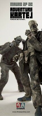 ThreeA 3A  3AA 1/6 AK Mauro JC/The Blind Oracle Zomb two pack Ashley Wood
