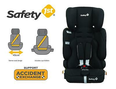New Safety 1st Solo Convertible Booster Infant Baby Car Seat 6mth to 8year Black