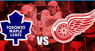 Toronto Maple Leafs at Detroit Red Wings: Saturday, 4/1/17; 2 tickets; sec. 211A