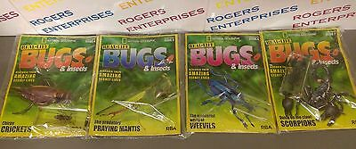National Geographic Real-Life Bugs & Insects Issues 4, 5, 6 & 7 All NEW & Sealed