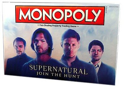 Usaopoly Monopoly Supernatural Editon, New and Sealed board game