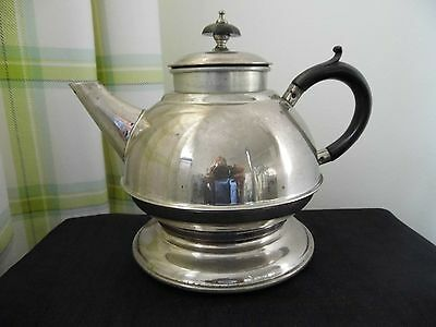 Vintage Retro Masters Plated On Solid Copper Teapot