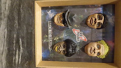Red Dwarf Cold Cast Figurehead In A Picture Frame
