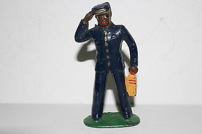 Barclay Vintage Lead Figure, B160 (#613) Porter, With Whisk Broom, Lot #1