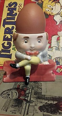 Vintage Humpty Dumpty Egg Cup - Collectable Porcelain From Mansell Print -Weiss
