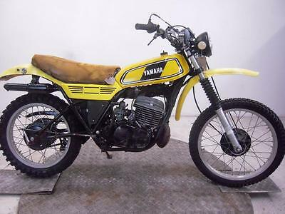 1977 Yamaha DT250E Enduro Unregistered US Import Barn Find Classic Spares Repair