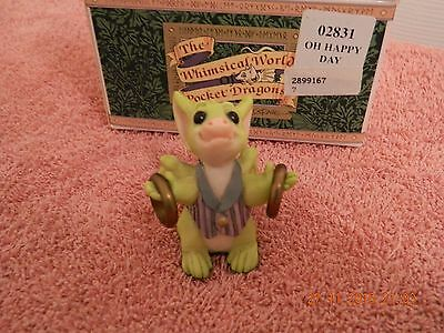 Oh Happy Day Pocket Dragon by Real Musgrave