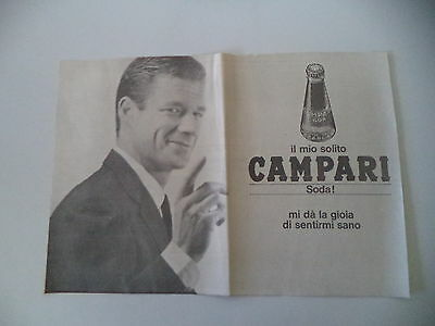 advertising Pubblicità 1968 CAMPARI SODA