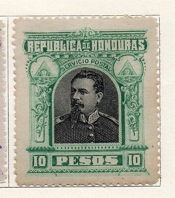 Honduras 1891 Early Issue Fine Mint Hinged 10P. 098873