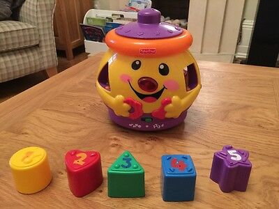 Fisher Price Laugh & Learn Cookie Shape Surprise.  RRP £16.99. Perfect Condition
