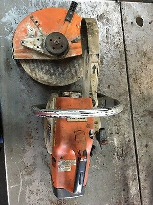 Stihl TS-400 Concrete Saw For Parts Or Repair #7992
