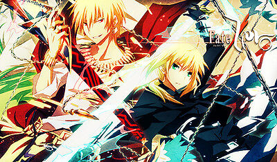D893 Free Mat Bag Fate Series Saber Large Game Mouse Pad Trading Card Game Mat