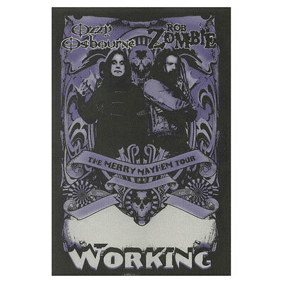 Ozzy Osbourne authentic Working 2001 tour Backstage Pass