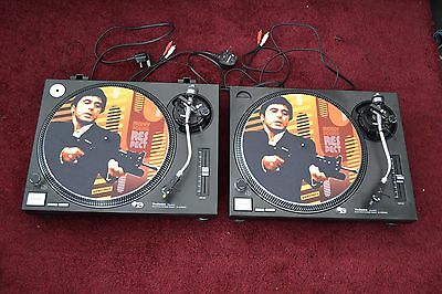 Technics Sl-1210 Mk2 Turntables Pair Excellent Working Condition Record Player